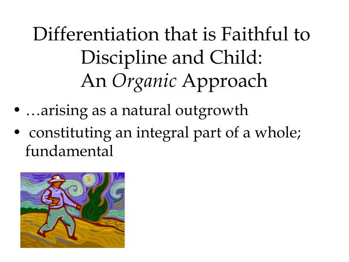 Differentiation that is Faithful to