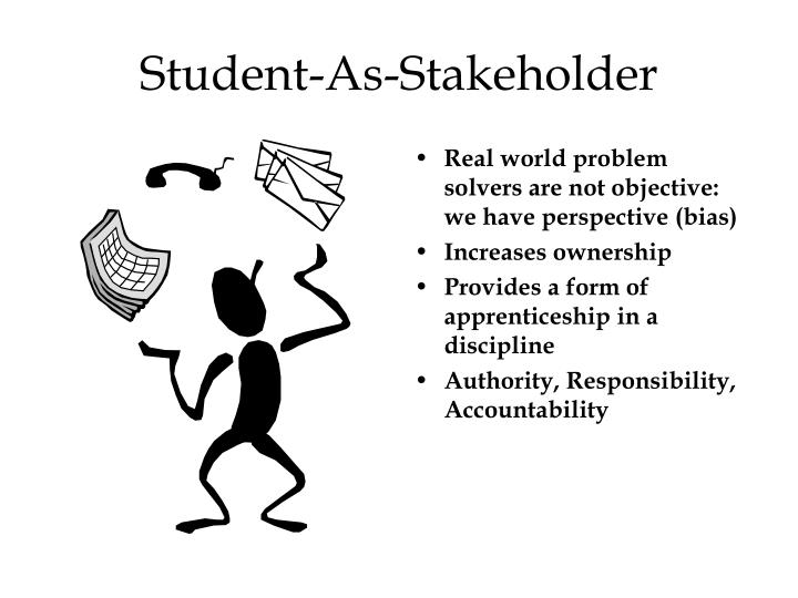 Student-As-Stakeholder
