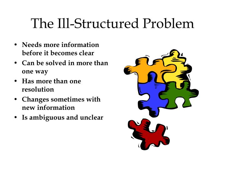 The Ill-Structured Problem