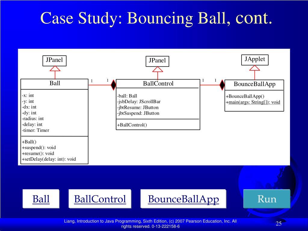 Case Study: Bouncing Ball