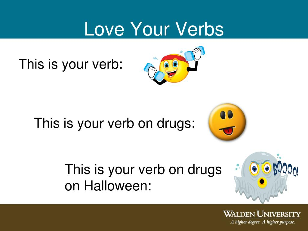 Love Your Verbs
