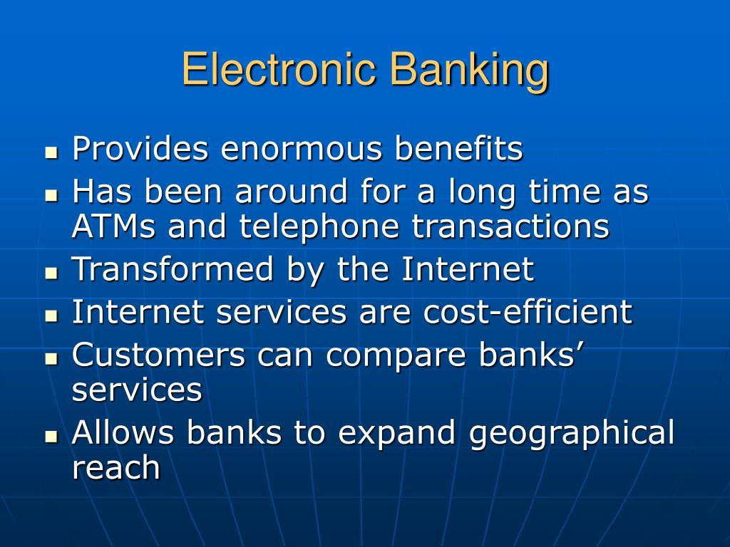 Electronic Banking