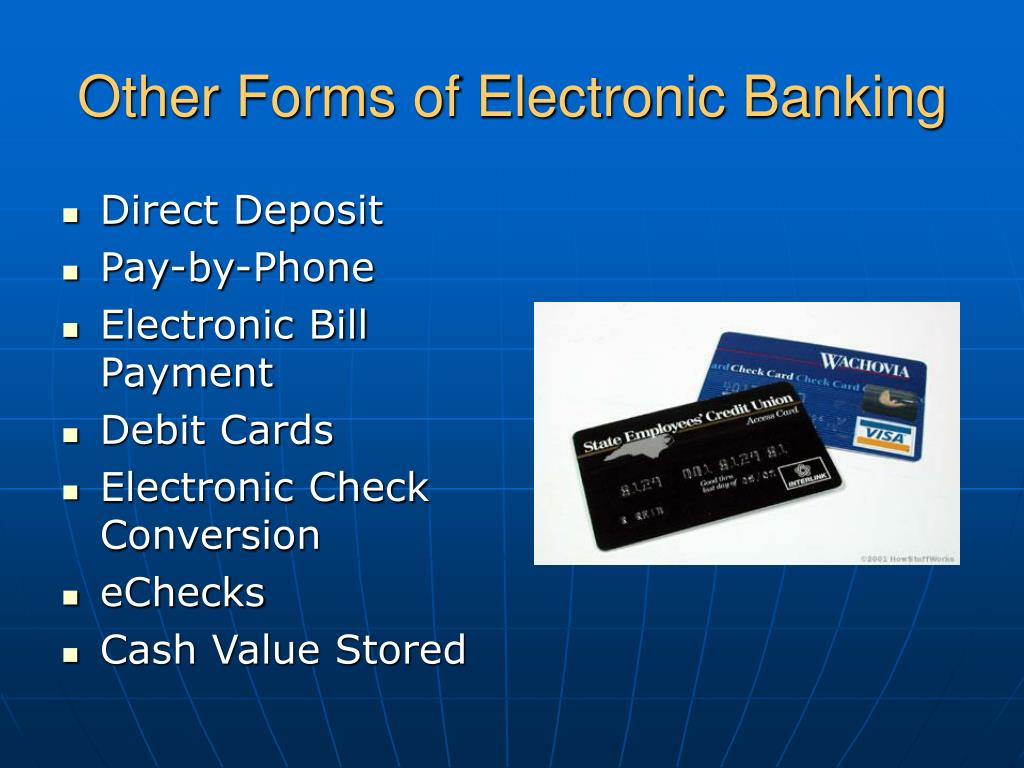 Other Forms of Electronic Banking