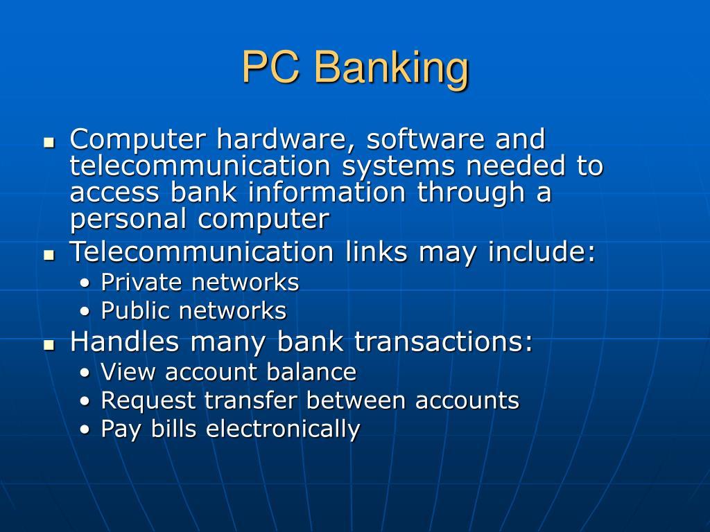 PC Banking