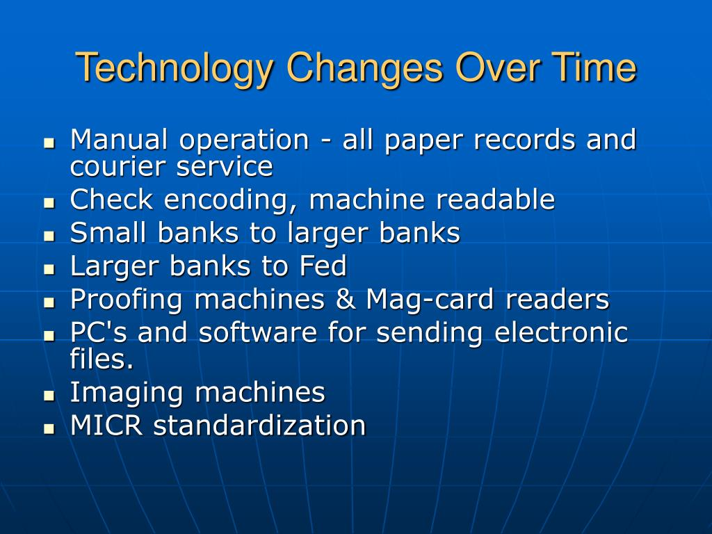Technology Changes Over Time