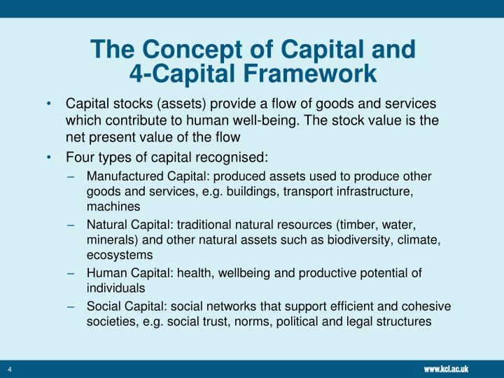 The Concept of Capital and
