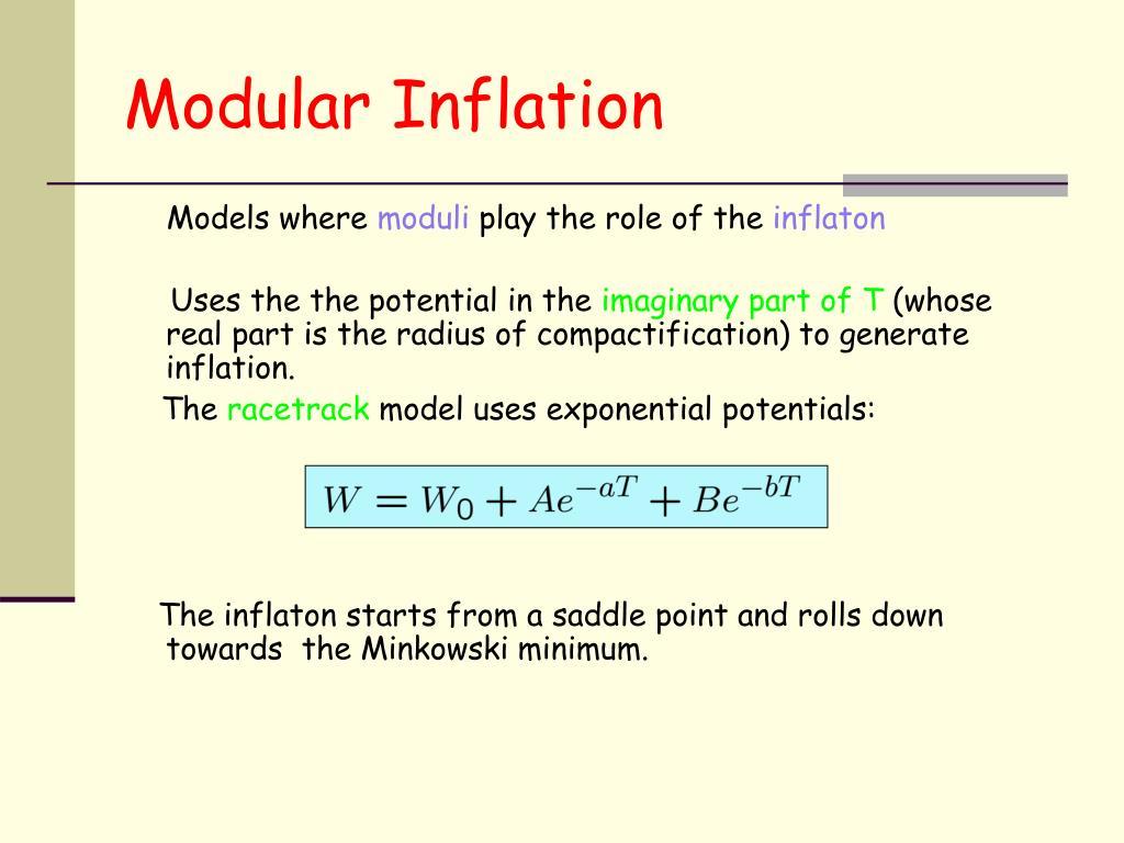 Modular Inflation