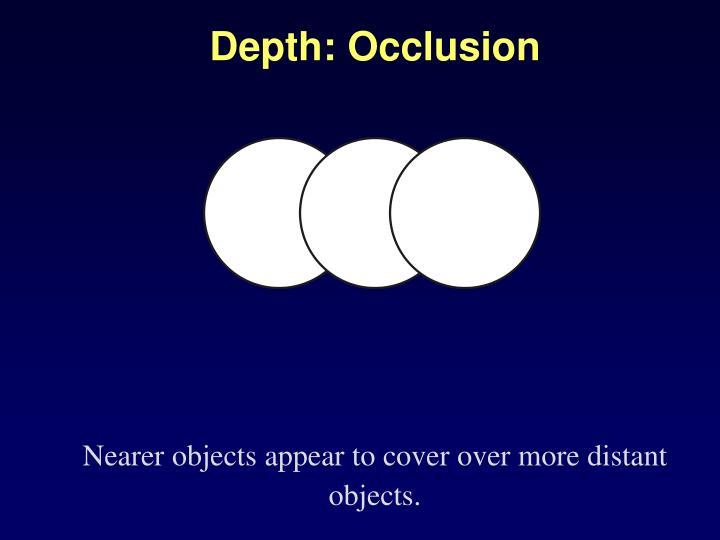 Depth: Occlusion