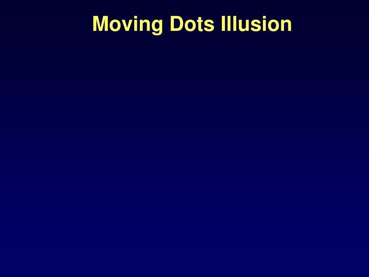 Moving Dots Illusion