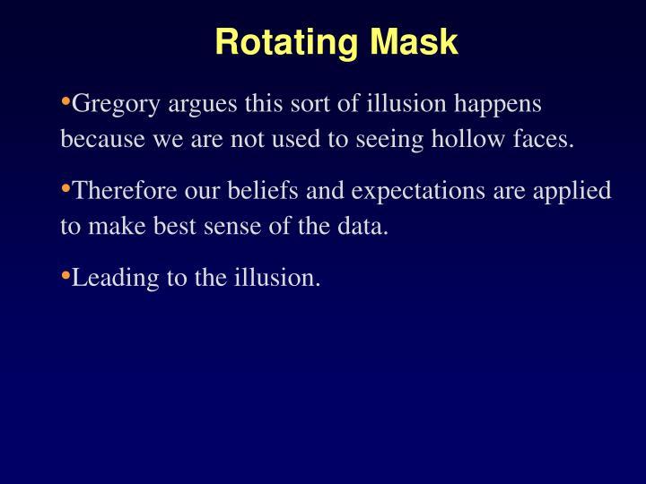 Rotating Mask