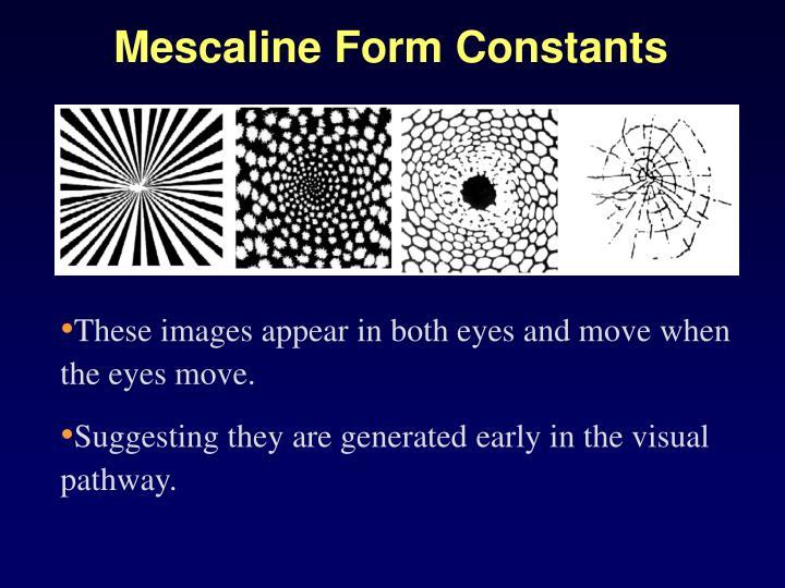 Mescaline Form Constants
