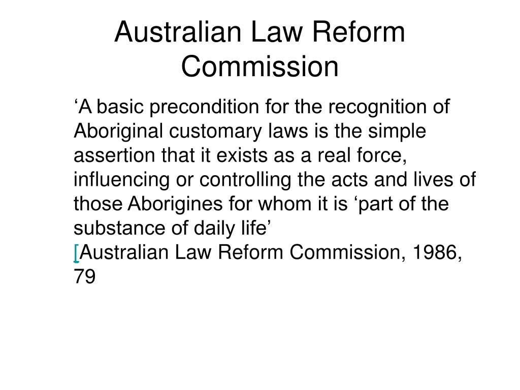 Australian Law Reform Commission
