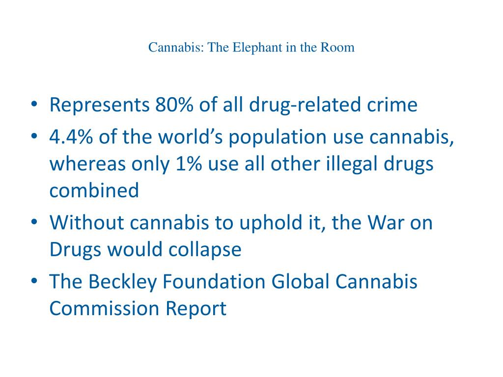Cannabis: The Elephant in the Room