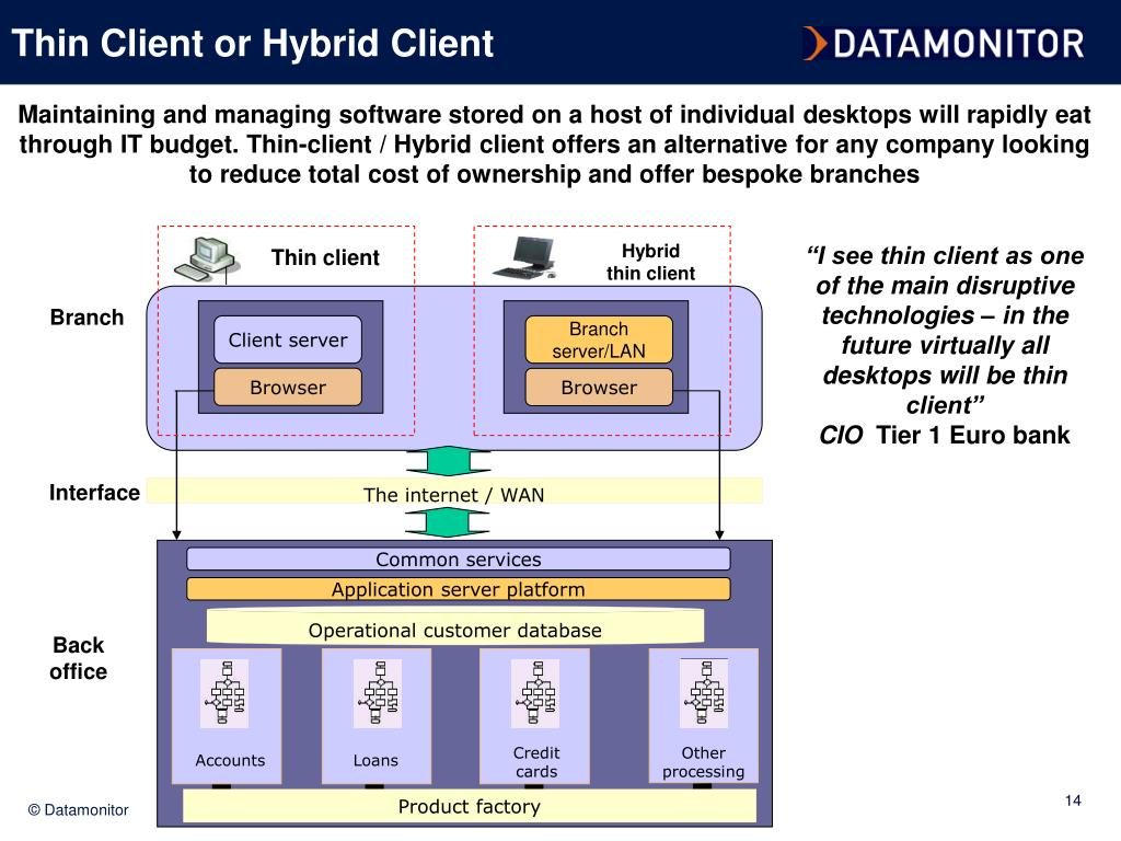 Thin Client or Hybrid Client