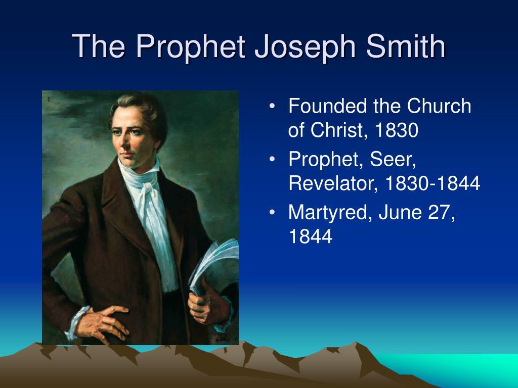 The Prophet Joseph Smith