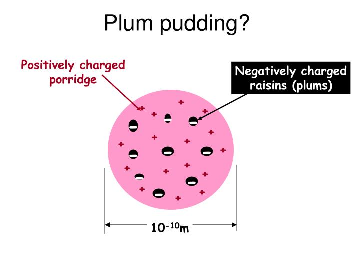 Plum pudding?