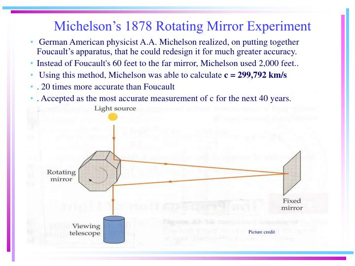 Ppt History Of The Speed Of Light C Powerpoint