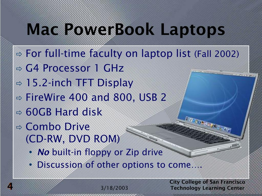 Mac PowerBook Laptops