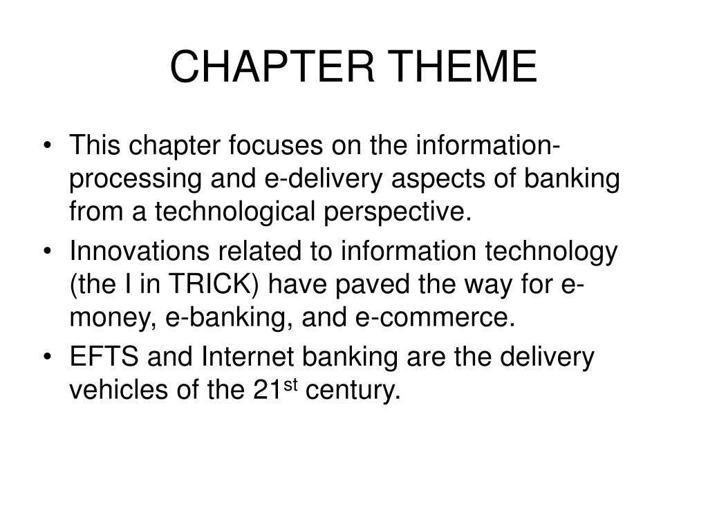 CHAPTER THEME
