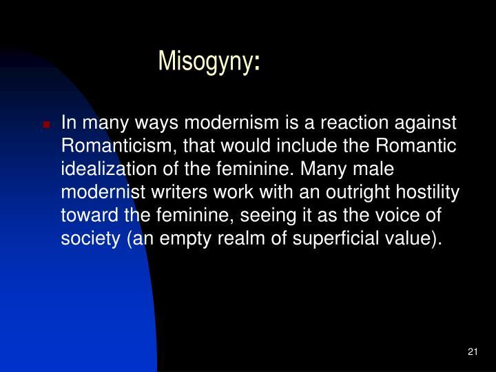 Misogyny