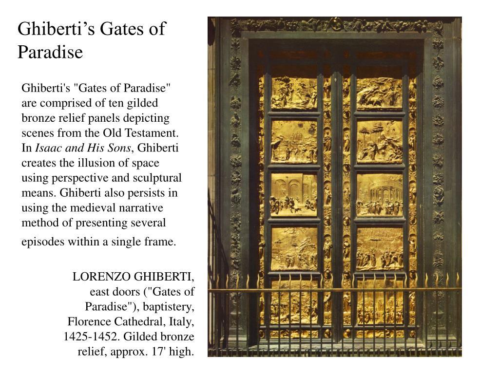Ghiberti's Gates of Paradise