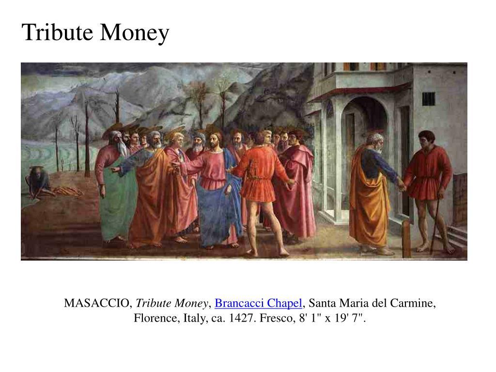 Tribute Money