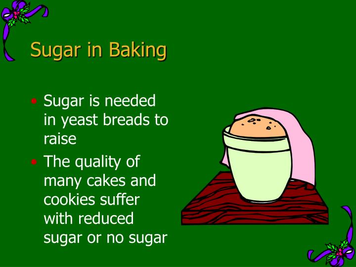 Sugar in Baking