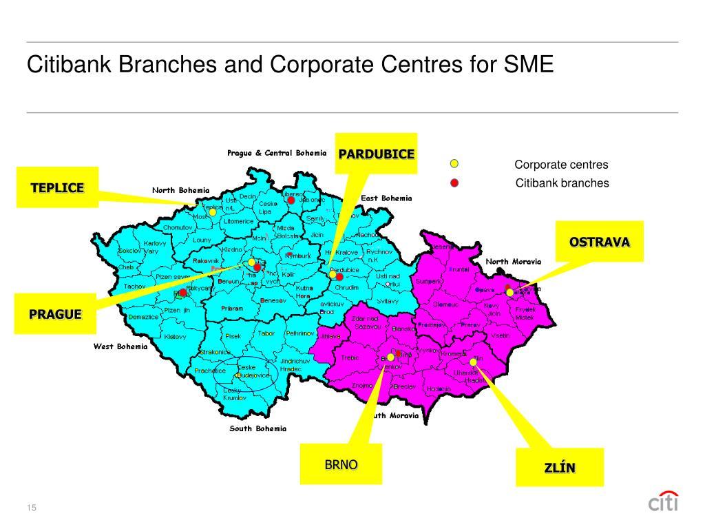 Corporate centres