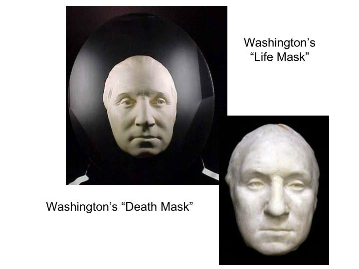 Washington s life mask