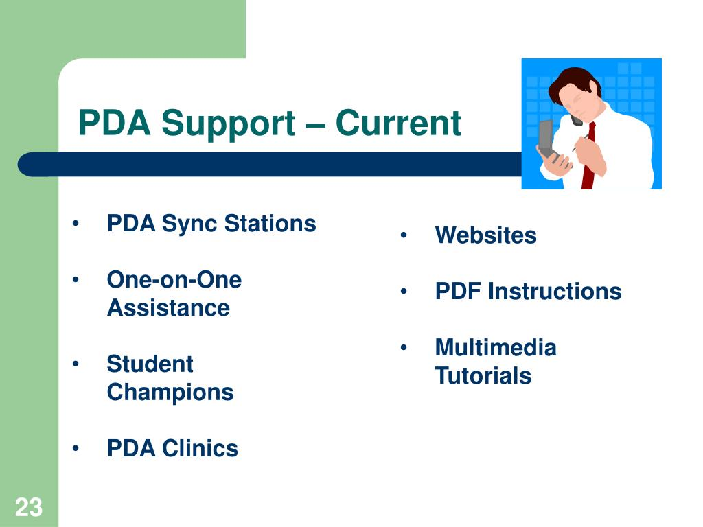 PDA Support – Current