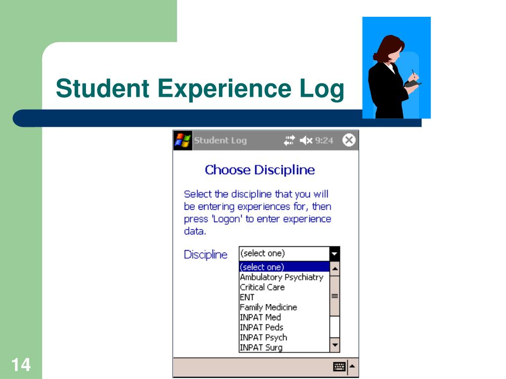 Student Experience Log