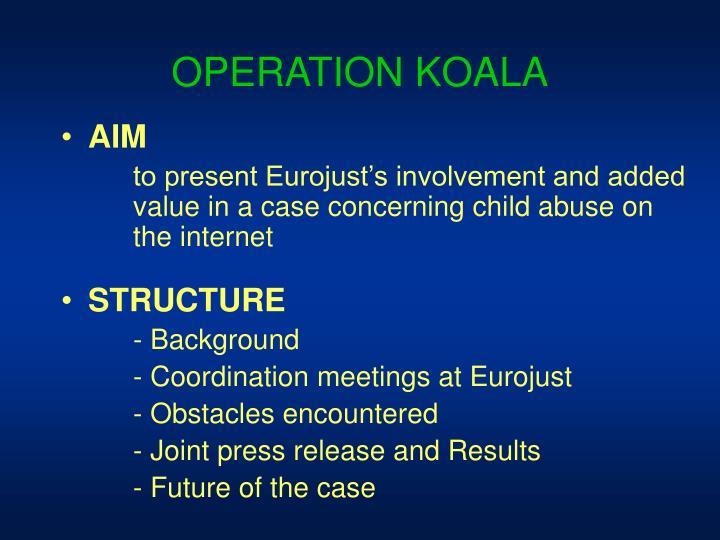 OPERATION KOALA