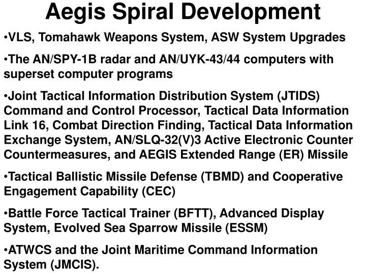 Aegis Spiral Development