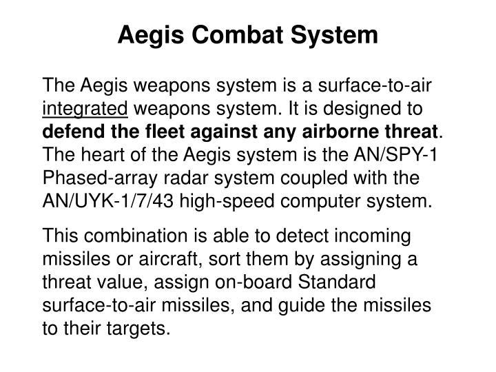 Aegis Combat System