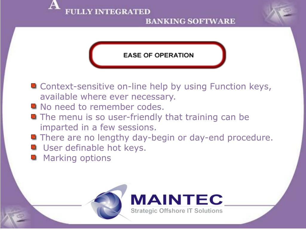 Context-sensitive on-line help by using Function keys,