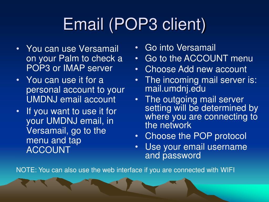Email (POP3 client)
