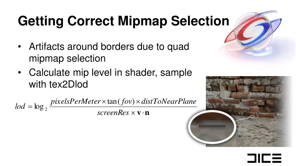 Getting Correct Mipmap Selection