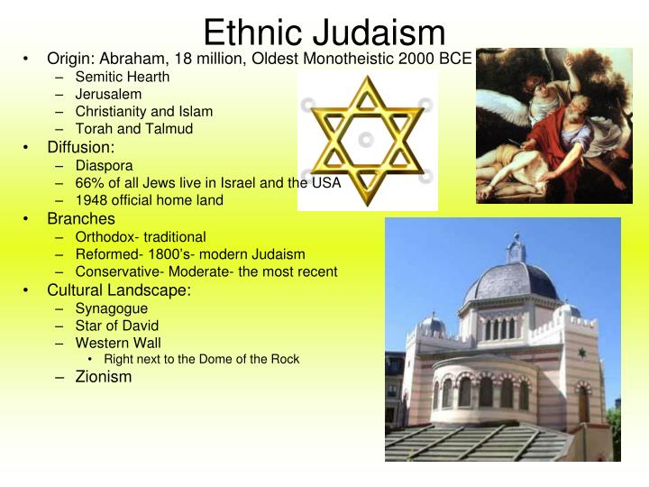 Ethnic Judaism