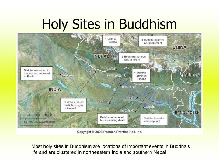 Holy Sites in Buddhism