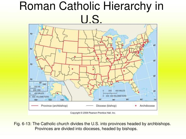 Roman Catholic Hierarchy in U.S.