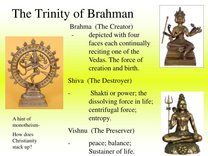 The Trinity of Brahman