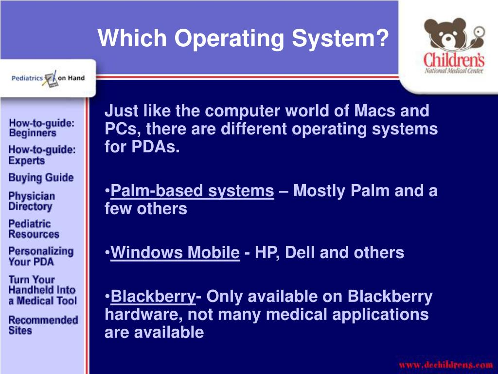 Which Operating System?