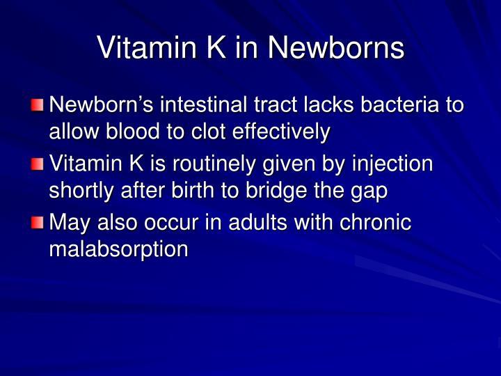 Vitamin K in Newborns
