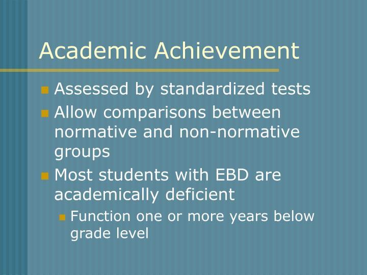 Academic Achievement