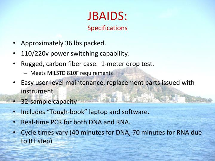JBAIDS: