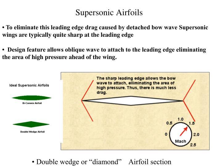 Supersonic Airfoils