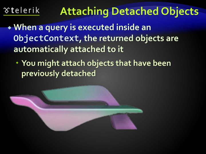 Attaching Detached Objects