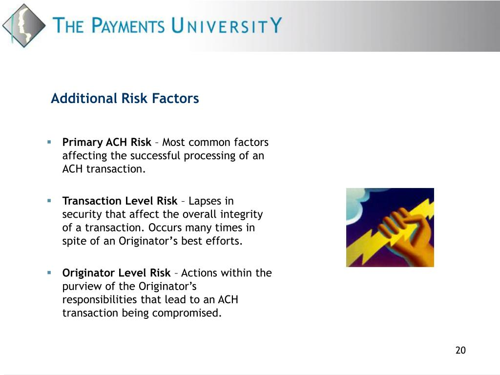 Additional Risk Factors