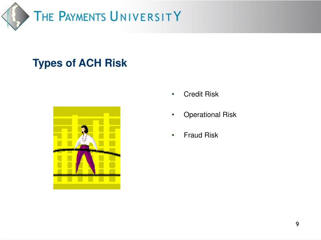 Types of ACH Risk