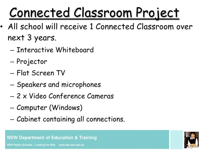 Connected Classroom Project